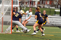York College vs St. Mary's College Women's Lacrosse Game 04.15.2015