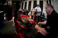 Bench Press Flight 3 Day 1 IPA Strength Spectacular 06.20.2015