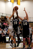 Dallastown vs Red Lion JV Girls Basketball Game 12.18.2012