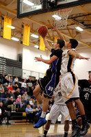 Dallastown vs Red Lion Boys Varsity Basketball Game 01.23.2013