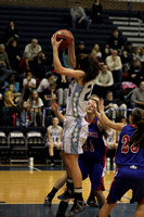Dallastown vs New Oxford Girls Varsity Game 02.02.2013