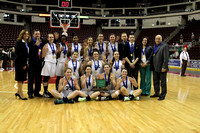 "District III AA Girls Basketball Championship ""Post Game"" 02.28.2013"