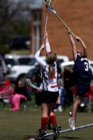 Red Land vs West York Girls Youth Lacrosse Game 04.16.2013