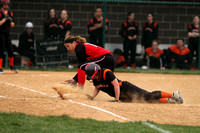 Dover vs York Suburban Girls Softball 04.15.2013