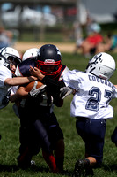 Midget JV YT vs Dallastown White Youth Football 08.24.2013