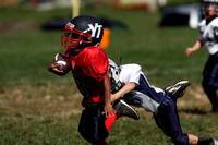 Smurfs YT vs Dallastown Youth Football 08.24.2013