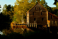"""Historic Yates Mill"" Raleigh NC 2013"