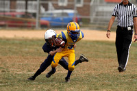 JV Pony East Tritown vs Dallastown Youth Football Game 09.21.2013