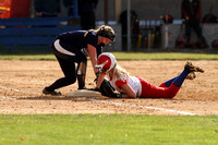 Dallastown vs New Oxford Varsity Girls Softball Game 04.08.2014