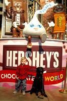Jace and SSD Foxtrot take over Hershey's Chocolate World