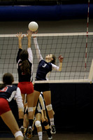 Dallastown vs New Oxford Girls Volleyball 09/22/2011