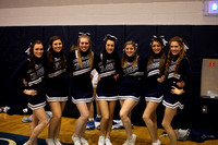 "Dallastown vs Red Lion ""Sr Night"" and Cheerleaders 01.26.2012"