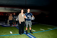 """Dallastown Football Sr Night"" Dallastown vs Central York 10.24.2014"