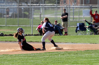 Dover vs West York Varsity Softball 04.13.2015